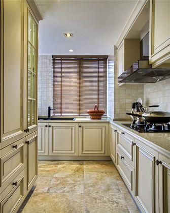 70平米三室一厅田园风格厨房装修图片大全