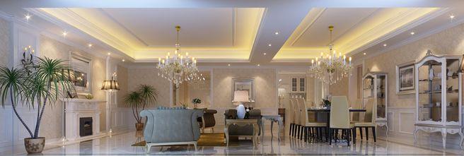 富裕型140平米四北欧风格客厅设计图