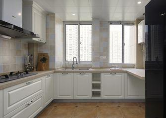 110平米三室一厅美式风格厨房图
