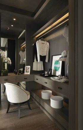 110平米三室兩廳現代簡約風格衣帽間圖片大全