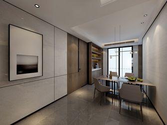 120平米三室两厅现代简约风格餐厅设计图
