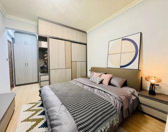 5-10万110平米三室两厅现代简约风格卧室图