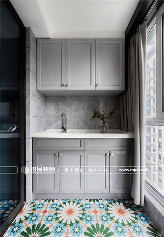90平米三室两厅美式风格阳光房图