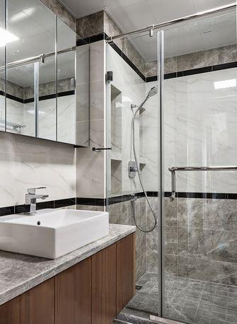 130平米四现代简约风格卫生间浴室柜装修效果图