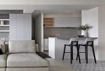 90平米三室两厅现代简约风格餐厅装修效果图