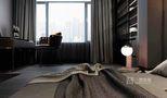 80平米三室两厅英伦风格卧室欣赏图