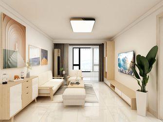 110平米田园风格客厅图