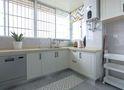 130平米三室一厅宜家风格厨房装修效果图