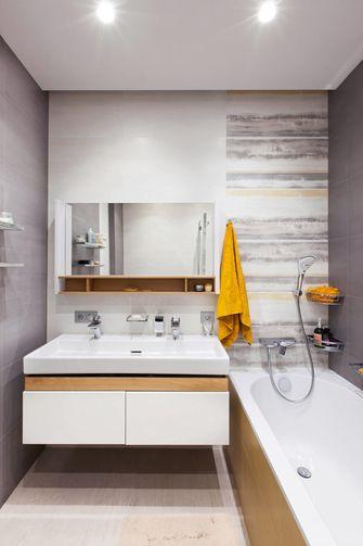 70平米公寓欧式风格卫生间欣赏图