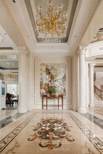 140平米别墅欧式风格玄关欣赏图