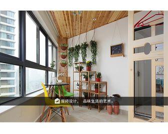 80平米田园风格阳台设计图