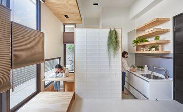50平米小户型日式风格厨房图