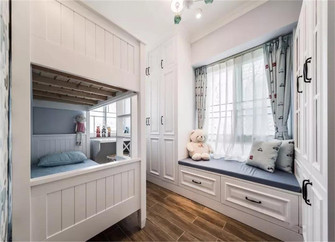 100平米四室两厅美式风格儿童房图片大全