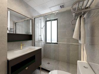 130平米三室两厅现代简约风格卫生间图片