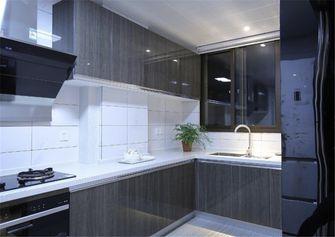 130平米三室两厅北欧风格厨房图片