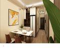 70平米现代简约风格餐厅图片