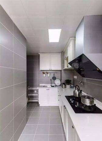 90平米三室一厅北欧风格厨房图片