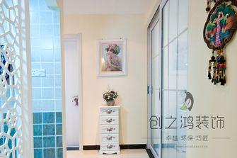 5-10万120平米三室一厅田园风格走廊欣赏图