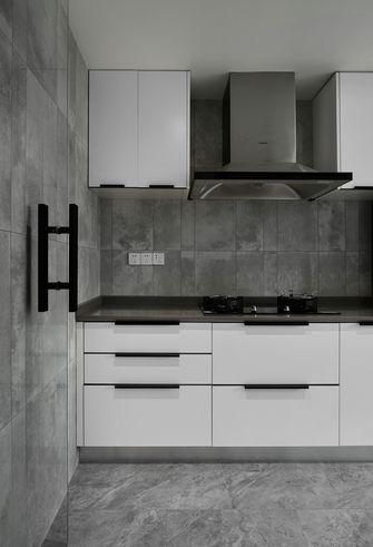 110平米三室两厅现代简约风格厨房效果图