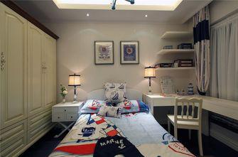 60平米公寓地中海风格卧室图片