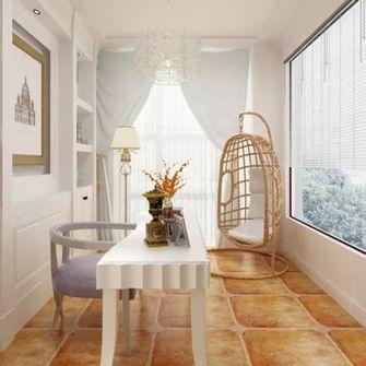 140平米三室一厅田园风格餐厅装修案例