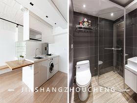 50平米一居室現代簡約風格衛生間裝修效果圖