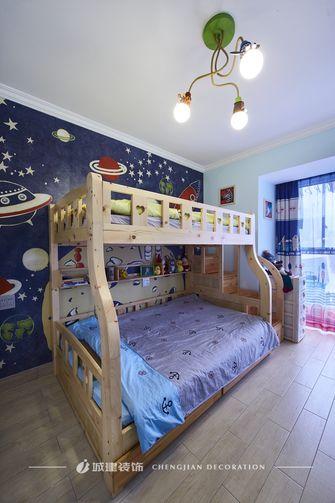 140平米四室两厅地中海风格儿童房设计图