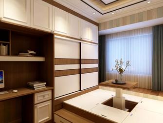 120平米四室一厅中式风格书房装修案例