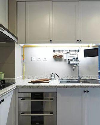 70平米田园风格厨房设计图