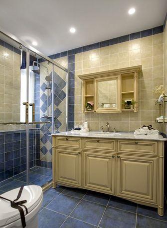 90平米三室两厅地中海风格卫生间装修案例