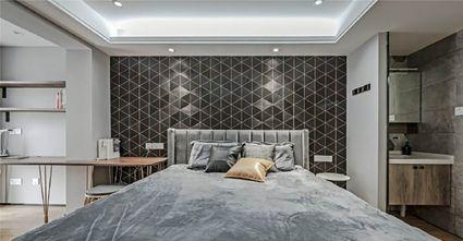 80平米复式宜家风格卧室设计图