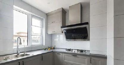 100平米三现代简约风格厨房效果图