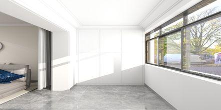 80平米现代简约风格阳台图片