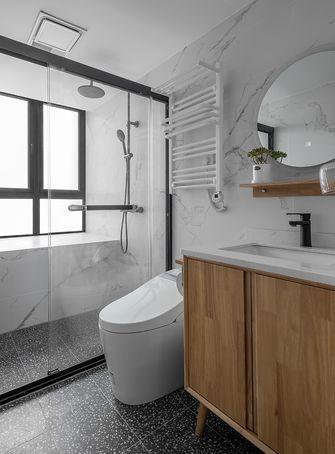 90平米三室两厅北欧风格卫生间图片