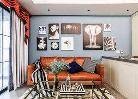 90平米三美式風格客廳裝修效果圖