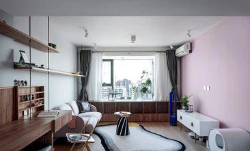 60平米一居室北欧风格客厅装修案例