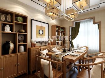 130平米三室两厅新古典风格餐厅装修效果图