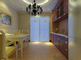 经济型100平米三室四厅现代简约风格餐厅装修效果图