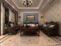 130平米四室两厅新古典风格客厅图片