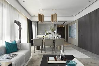 140平米四室一厅欧式风格客厅装修案例