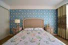 120平米三室两厅田园风格卧室装修案例