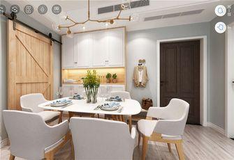 100平米三室一厅北欧风格餐厅图片大全