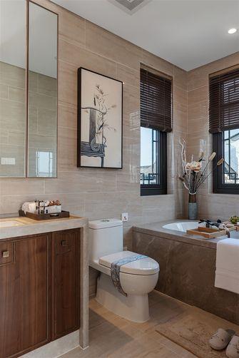 100平米三室一厅中式风格卫生间欣赏图