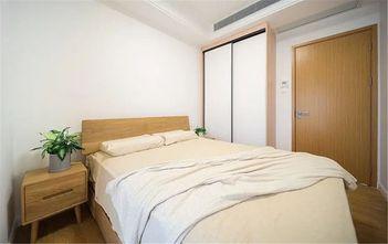 130平米四室一厅日式风格卧室装修效果图