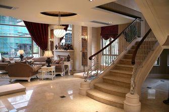 豪华型140平米别墅现代简约风格楼梯图片
