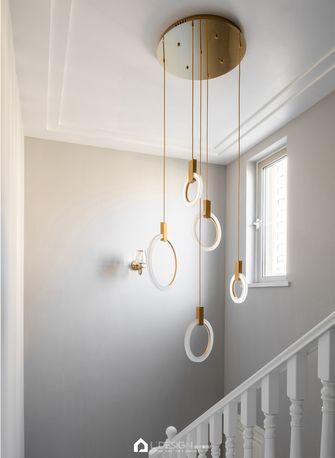 豪华型140平米别墅法式风格楼梯间装修图片大全