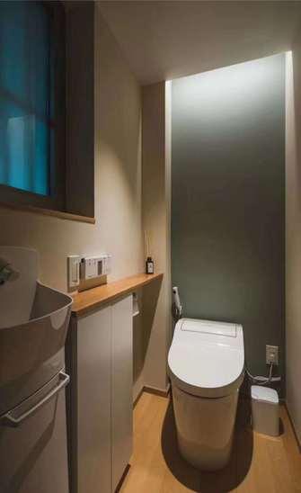 90平米一室一厅日式风格卫生间装修图片大全