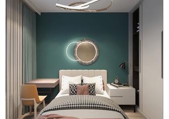 80平米三室一厅中式风格卧室装修案例