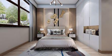 豪华型140平米三现代简约风格卧室装修效果图
