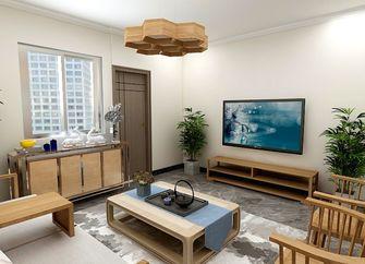 50平米小户型中式风格客厅装修案例
